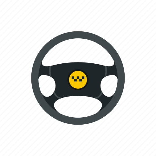 car, driver, taxi, transport, transportation, vehicle, wheel icon