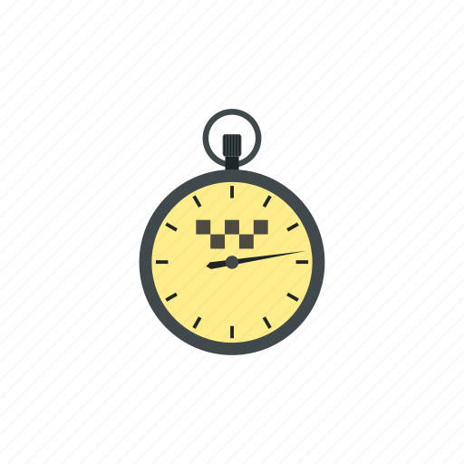 cflat icon, speed, stopwatch, taxi, time, timer, watch icon