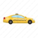 auto, car, service, taxi, transport, vehicle, yellow icon