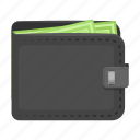 business, cash, dollar, finance, money, payment, purse icon