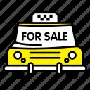 car, for sale, sale, taxi, transport