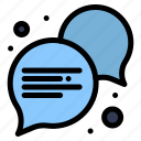 communication, conversation, dialogue icon