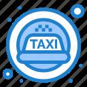 cab, siren, taxi icon