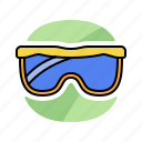 glasses, protect, safe, safety, sunglasses icon