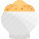 baking, food, plate, tea icon
