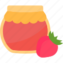 bank, raspberry, sweet, tea