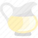 bottle, decanter, drink, tea icon