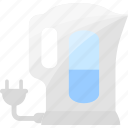 drink, electric, kettle, tea icon