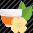 drink, flowers, herbs, tea icon
