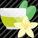 drink, flower, glass, sheet, tea