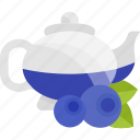 drink, kettle, pulm, tea icon