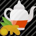 drink, kettle, sheet, tea