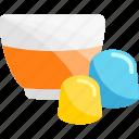 glass, marmalade, sweet, tea icon
