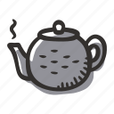 chinese, hot water, japanese, pot, tea, teapot icon