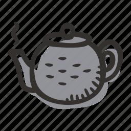 chinese, hot water, japanese, pot, tea, teapot icon