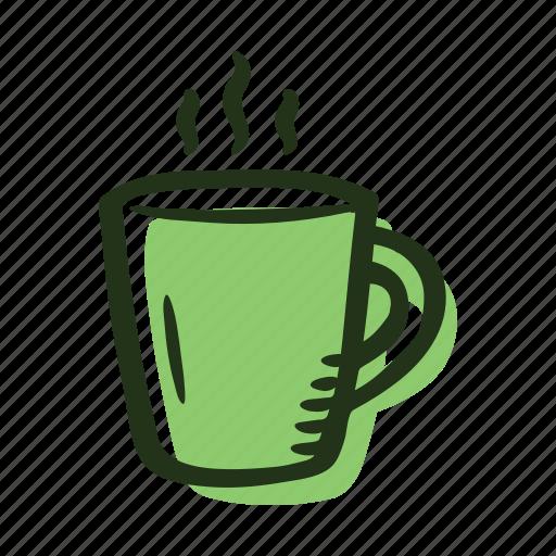 beverage, coffee, coffee cup, mug, tea, teacup icon