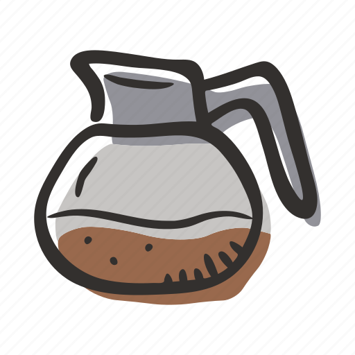 beverage, coffee, coffee server, hot drink, restaurant icon