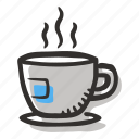 beverage, coffee, coffee cup, espresso, hot drink icon