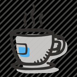 beverage, coffee, coffee cup, espresso, hot drink icon