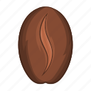 aroma, bean, brown, cafe, caffeine, cartoon, coffee icon