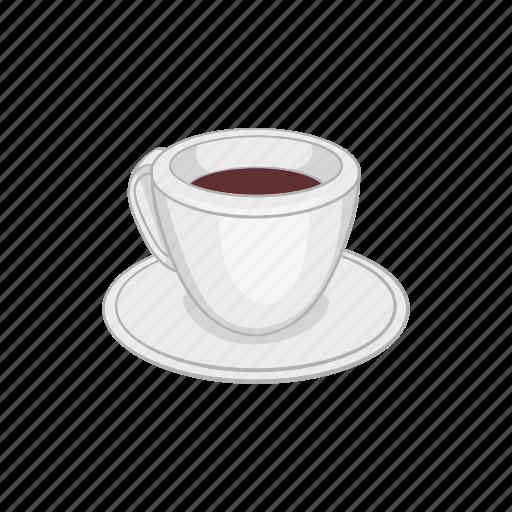 aroma, brown, cartoon, coffee, cup, drink, espresso icon
