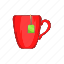 beverage, cartoon, cup, drink, hot, mug, tea icon