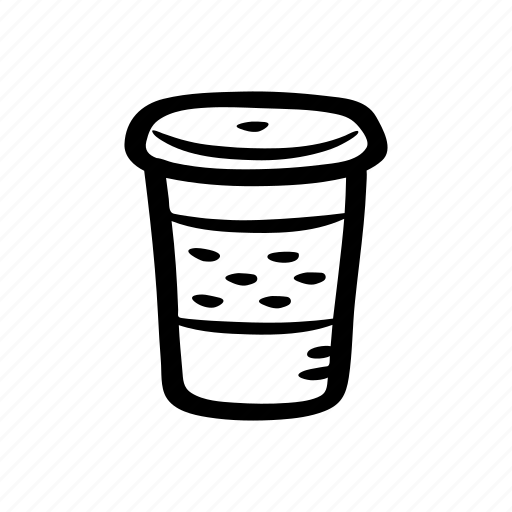 beverage, cappuccino, coffee, coffee cup, plastic cup icon