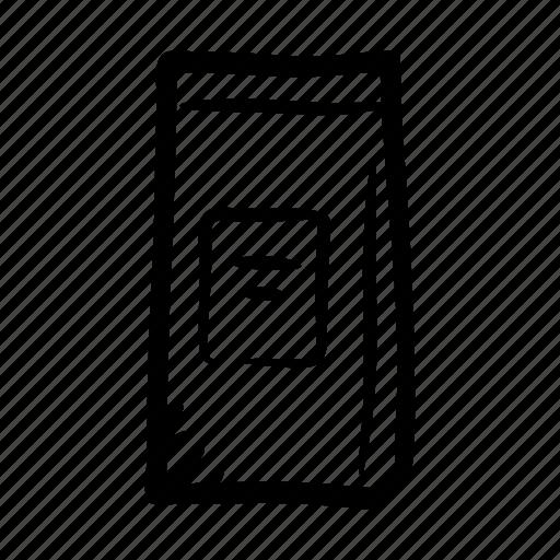 bag, coffee, coffee bag, pack, shop, tea, tea bag icon