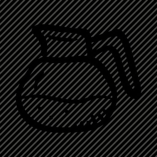 beverage, coffee, coffee server, hot drink, restaurant icon