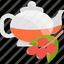ceremony, drink, fruit, tea icon