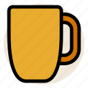 beverage, coffee, cup, drink, hot drink, mug, tea icon
