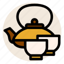 cup, drink, hot drink, japanese, japanese tea, tea, tea ceremony icon