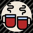 beverage, cup, drink, hot drink, mug, mugs, tea