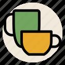beverage, cup, drink, hot drink, mug, mugs, tea icon