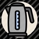 coffee, drink, hot water, kettle, tea, water