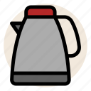 drink, hot drink, hot water, tea, teapot icon
