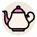 drink, english, english tea, hot drink, tea, teapot icon