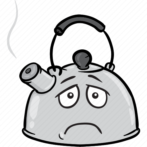 boiling, coffee, emoji, kettle, tea, water icon