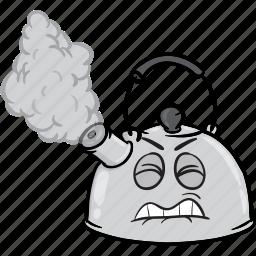boiling, coffee, emoji, kettle, tea, water icon
