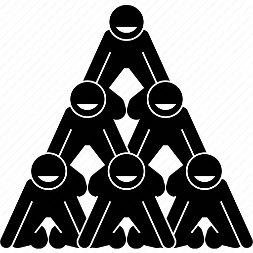 building, friend, human, pyramid, team, teamwork, together icon