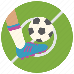 ball, foot, shoes, soccer, sports icon
