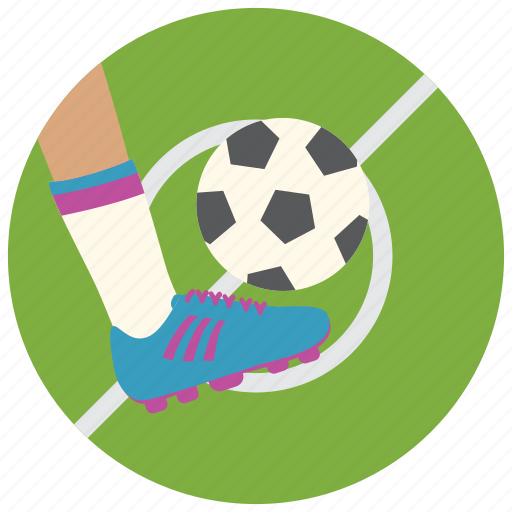 Ball, foot, shoes, soccer, sports icon - Download on Iconfinder