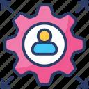 abilities, capability, capacity, potential, skills, talent, user icon