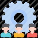 cog wheel, cooperation, partnership, successful, support, team, teamwork