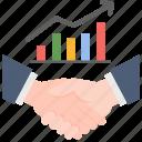 cooperation, handshake, partnership, profit, successful, team, teamwork