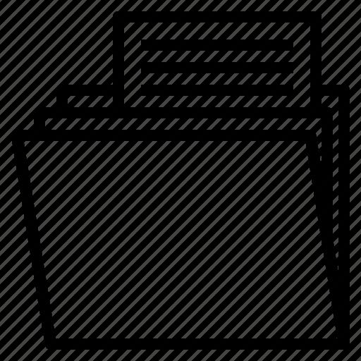 archive, file, folder icon