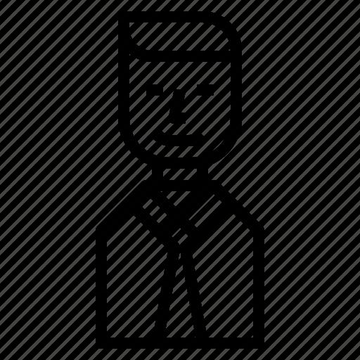 avatar, businessman icon