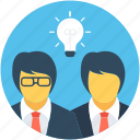 business idea, creative mind, idea, innovative mind, intelligence icon