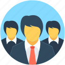 group, hierarchy, leader, manager, team icon