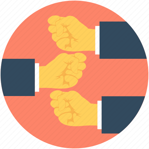business corporate, companionship, cooperation, friendship, hands icon